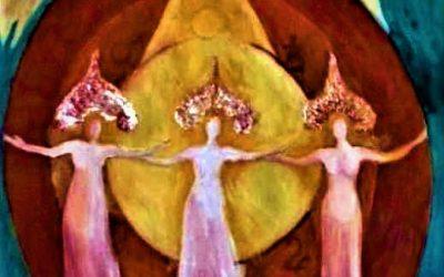 Het Goddelijke Vrouwelijke vindt Haar Plaats op Aarde